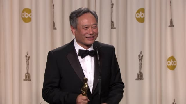 SPEECH Ang Lee on not winning a 'Best Picture' Academy Award at 85th Annual Academy Awards Press Room in Hollywood CA on 2/24/2013