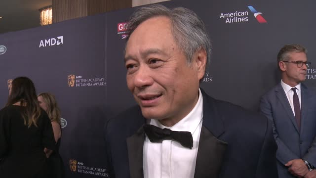 INTERVIEW Ang Lee on tonight's event On receiving the John Schlesinger Britannia Awards for Excellence in Directing at 2016 AMD British Academy...