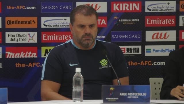 ange postecoglou says he will not take australia to the world cup next year after a lengthy qualification campaign leaving the team just months to... - australian national team stock videos & royalty-free footage