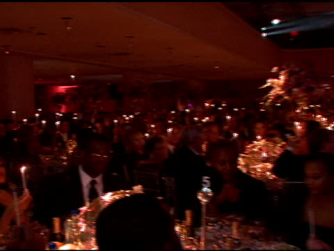 angel ball dinner at the denise rich marks 10th year of the gp foundation with an evening of stars and music at the 2007 angel ball at marriott... - marriott marquis new york stock videos & royalty-free footage