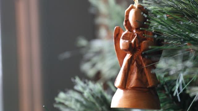 エンジェルクリスマスデコレーション - キリスト降誕点の映像素材/bロール