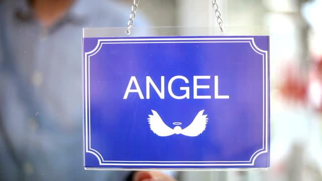 angel - devil sign - devil stock videos & royalty-free footage