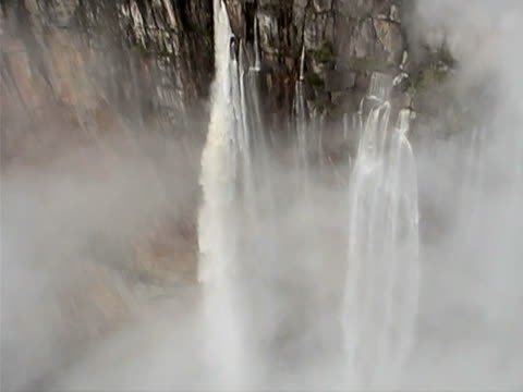 angel falls waterfall - free falling stock videos & royalty-free footage