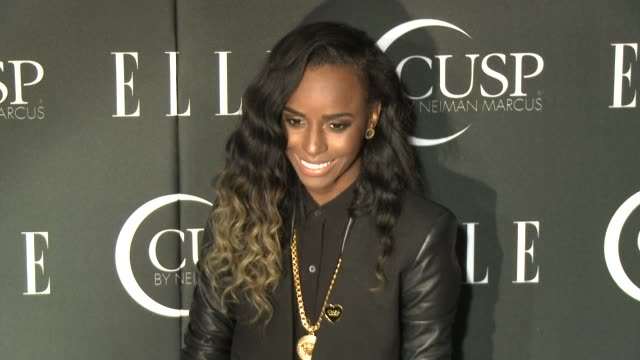 stockvideo's en b-roll-footage met angel haze at 5th annual elle women in music celebration presented by cusp by neiman marcus at avalon on april 22, 2014 in hollywood, california. - neiman marcus