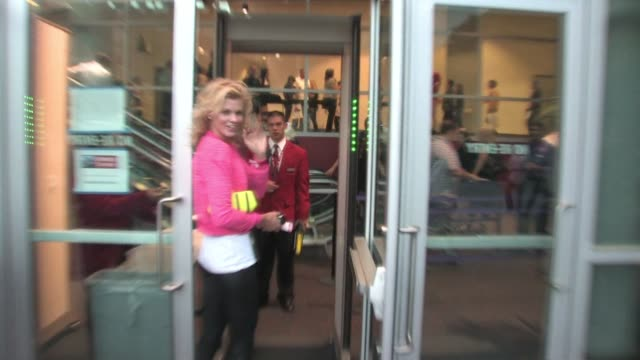 Angel McCord at the Staples Center in Los Angeles at the Celebrity Sightings in Los Angeles at Los Angeles CA
