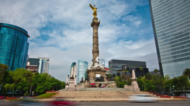 TIME LAPSE: Angel of Independence Mexico City
