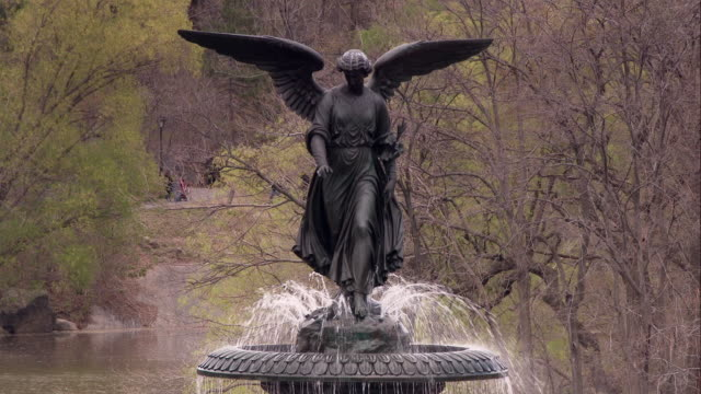 Angel of the Waters on the Bethesda Fountain in Central Park