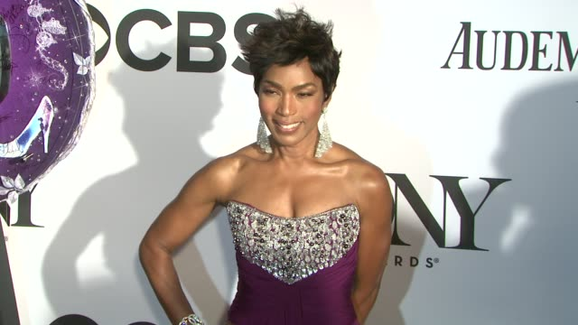 Angela Basset at The 67th Annual Tony Awards Arrivals at Radio City Music Hall on June 09 2013 in New York New York