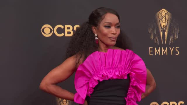 angela bassett arrives to the 73rd annual primetime emmy awards at l.a. live on september 19, 2021 in los angeles, california. - emmy awards stock videos & royalty-free footage