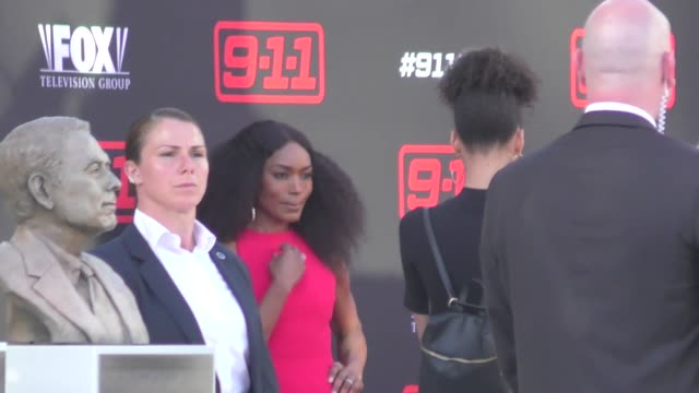Angela Bassett arriving to the FYC for 911 at Saban Media Center in North Hollywood in Celebrity Sightings in Los Angeles