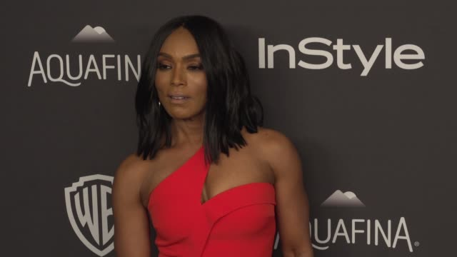 Angela Bassett at 17th Annual InStyle And Warner Bros Pictures Golden Globe AfterParty at The Beverly Hilton Hotel on January 10 2016 in Beverly...
