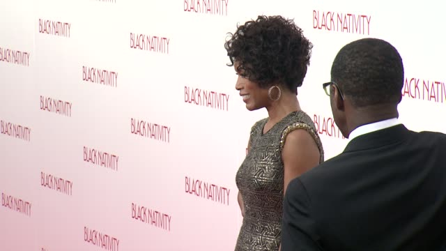 Angela Bassett at 'Black Nativity' New York Premiere Presented By Fox Searchlight Pictures at the The Apollo Theater on 11/18/13 in New York NY