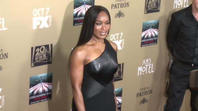 Angela Bassett at FX's American Horror Story Hotel Los Angeles Premiere at Regal Cinemas LA Live on October 03 2015 in Los Angeles California
