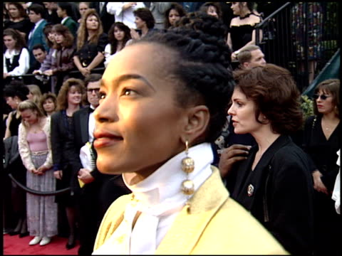 Angela Bassett at the 1994 People's Choice Awards at Sony Studios in Culver City California on March 8 1994