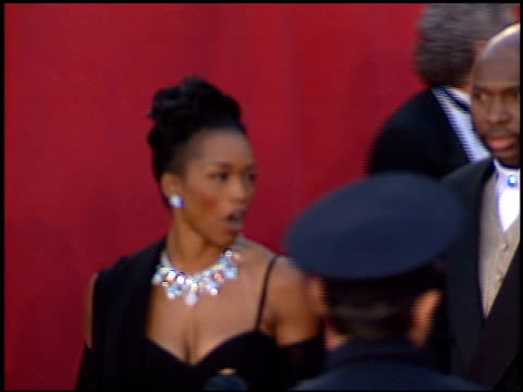 Angela Bassett at the 1996 Academy Awards Arrivals at the Shrine Auditorium in Los Angeles California on March 25 1996