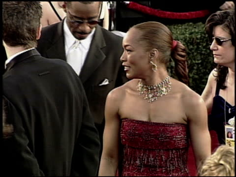 angela bassett at the 2000 academy awards at the shrine auditorium in los angeles california on march 26 2000 - 72nd annual academy awards stock videos and b-roll footage