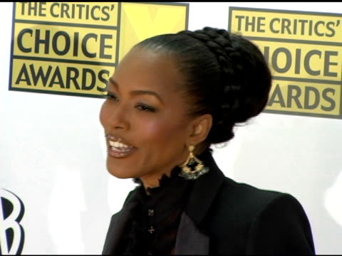 Angela Bassett at the 2006 Critics' Choice Awards arrivals at Santa Monica Civic Auditorium in Santa Monica California on January 9 2006