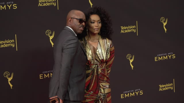 angela bassett at the 2019 creative arts emmy awards - day 1 at microsoft theater on september 14, 2019 in los angeles, california. - angela bassett stock videos & royalty-free footage