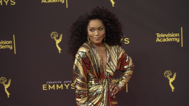 angela bassett at the 2019 creative arts emmy awards day 1 at microsoft theater on september 14 2019 in los angeles california - emmy awards stock videos & royalty-free footage