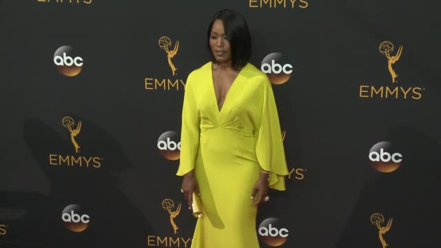 Angela Bassett at the 68th Annual Primetime Emmy Awards Arrivals at Microsoft Theater on September 18 2016 in Los Angeles California