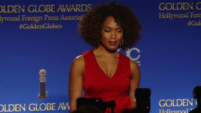 Angela Bassett at the 73rd Annual Golden Globe Awards Nominations Announcement at The Beverly Hilton Hotel on December 10 2015 in Beverly Hills...