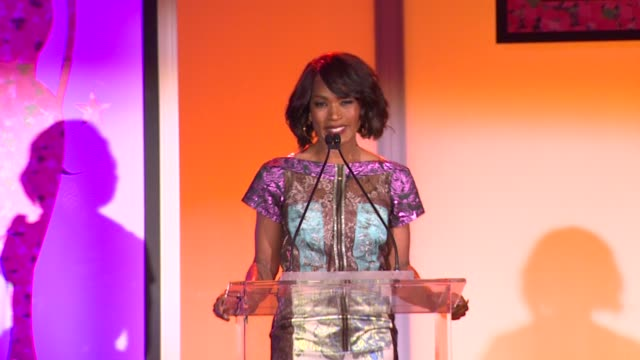 angela bassett at the 7th annual essence black women in hollywood luncheon at beverly hills hotel on february 27, 2014 in beverly hills, california. - beverly hills hotel stock videos & royalty-free footage