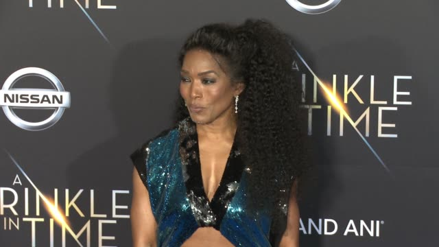 Angela Bassett at the A Wrinkle In Time World Premiere at the El Capitan Theatre on February 26 2018 in Hollywood California