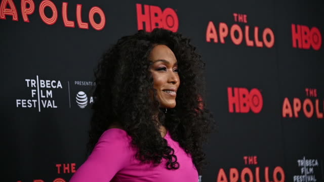 Angela Bassett at The Apollo 2019 Tribeca Film Festival at The Apollo Theater on April 24 2019 in New York City