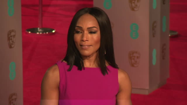Angela Bassett at The EE British Academy Film Awards at The Royal Opera House on February 14 2016 in London England