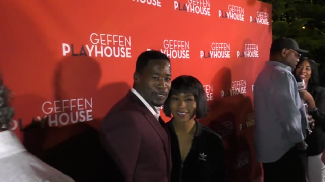 Angela Bassett at the 'Emergency' Opening Night at the Geffen Playhouse on October 19 2017 in Westwood California
