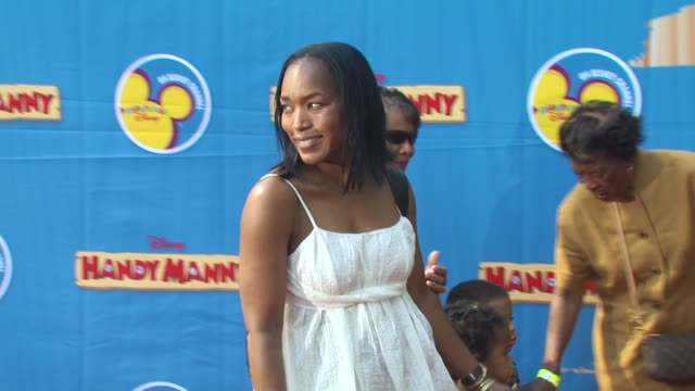 Angela Bassett at the Exclusive Premiere of Disney Channel's 'Handy Manny Motorcycle Adventure' at Hollywood CA