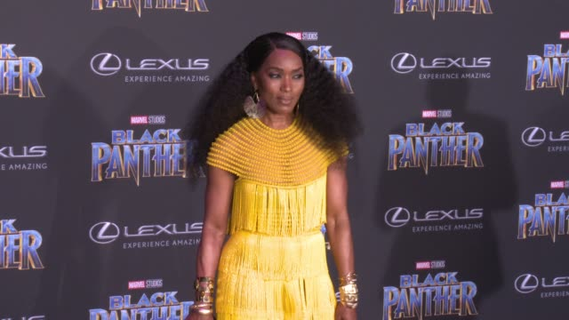 Angela Bassett at the Marvel Studios' 'Black Panther' World Premiere at Dolby Theatre on January 29 2018 in Hollywood California