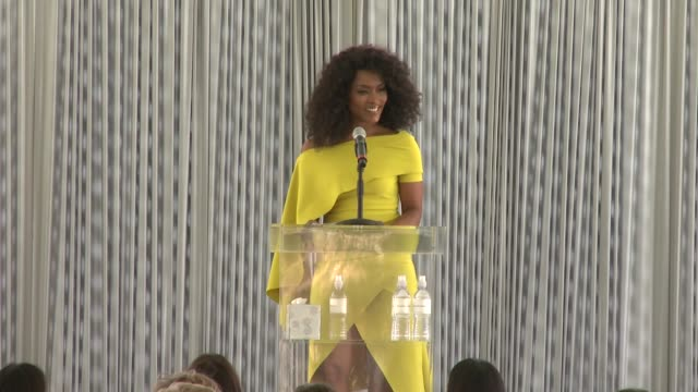 angela bassett at the rape foundation annual brunch 2019 at greenacres, the private estate of ron burkle on october 06, 2019 in beverly hills,... - angela bassett stock videos & royalty-free footage