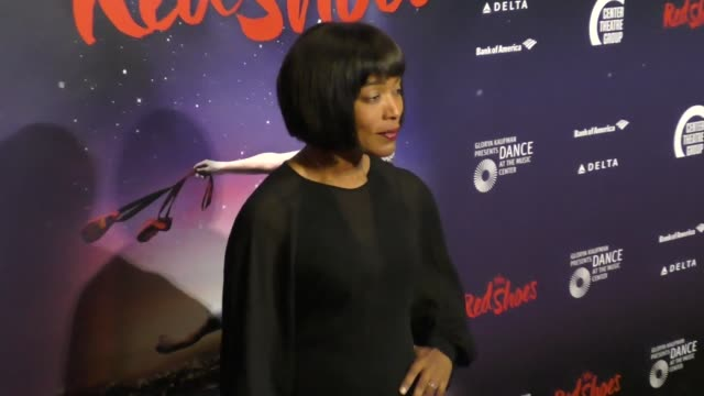 Angela Bassett at the 'The Red Shoes' Opening Night Performance at the Ahmanson Theatre on September 19 2017 in Los Angeles California