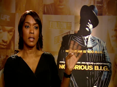 Angela Bassett on working very closely with Notorious' family and on P Diddy at the 59th Berlin Film Festival Notorious Interviews at Berlin