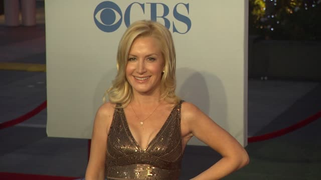 angela kinsey at 2012 people's choice awards arrivals on 1/11/12 in los angeles ca - angela kinsey stock videos and b-roll footage