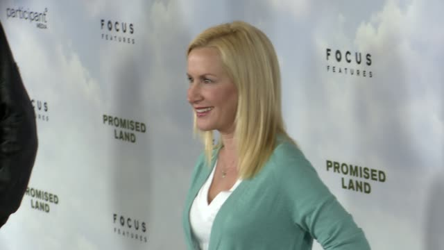 angela kinsey at promised land los angeles premiere on 12/6/12 in los angeles ca - angela kinsey stock videos and b-roll footage