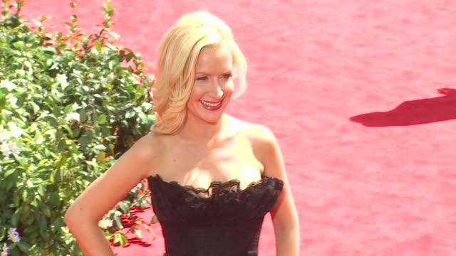 angela kinsey at the 62nd primetime emmy awards arrivals at los angeles ca - angela kinsey stock videos and b-roll footage