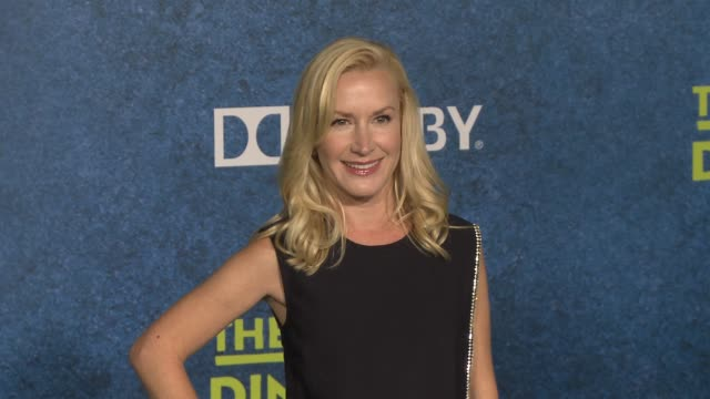 angela kinsey at the good dinosaur world premiere at the el capitan theatre on november 17 2015 in hollywood california - angela kinsey stock videos and b-roll footage