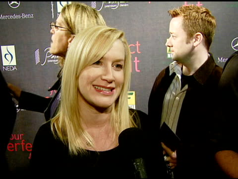 angela kinsey on the event at the paige denim book launch at paige premium denim boutique in west hollywood california on february 28 2008 - angela kinsey stock videos and b-roll footage