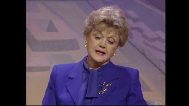 angela lansbury describes her longheld ambition to win an oscar after three nominations for best supporting actress - love emotion stock videos & royalty-free footage