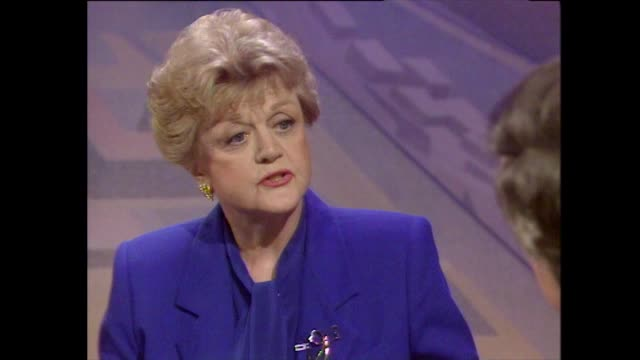 angela lansbury explains how she evolved her acting technique to fit her character in 'mame' and built her confidence - healthy lifestyle stock videos & royalty-free footage