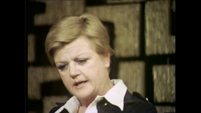 angela lansbury explains how she found it difficult to fit into the chaning hollywood studio system and finding her place as an actress - colours stock videos & royalty-free footage