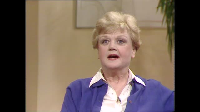 angela lansbury talks about the experience of working on walt disney's bedknobs and broomsticks - cartoon stock videos & royalty-free footage