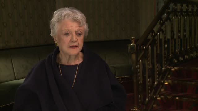 angela lansbury's pride of being from london and memories of london's east end and her grandfather george lansbury - females stock videos & royalty-free footage
