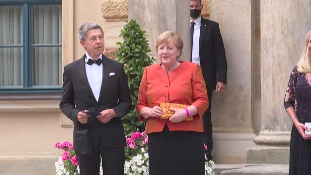 DEU: Germany: Angela Merkel attends opera festival in Bayreuth
