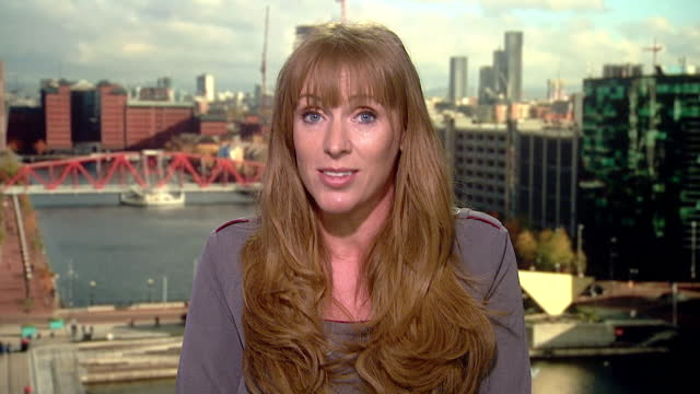 "angela rayner saying the government are ""hiding"" from disclosure of the downing street flat redecoration money and government access for businesses - conservative party uk stock videos & royalty-free footage"