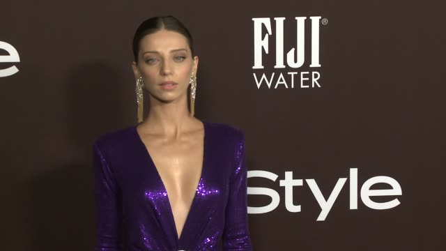 Angela Sarafyan at 2018 InSyle Awards at The Getty Center on October 22 2018 in Los Angeles California