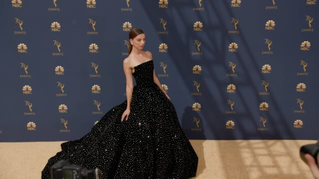 Angela Sarafyan at the 70th Emmy Awards Arrivals at Microsoft Theater on September 17 2018 in Los Angeles California