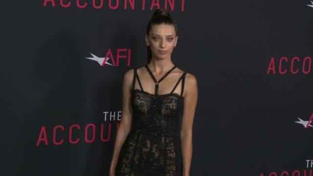 Angela Sarafyan at 'The Accountant' Premiere in Los Angeles CA